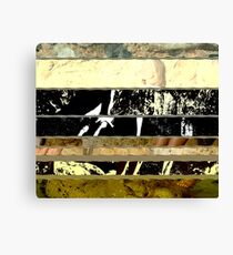 Glitchy Scramble Canvas Print
