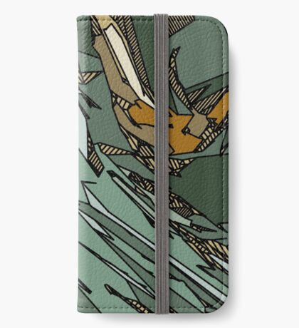 Army Shatter iPhone Wallet