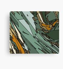Army Shatter Canvas Print