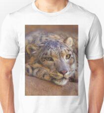 Snow Leopard Unisex T-Shirt