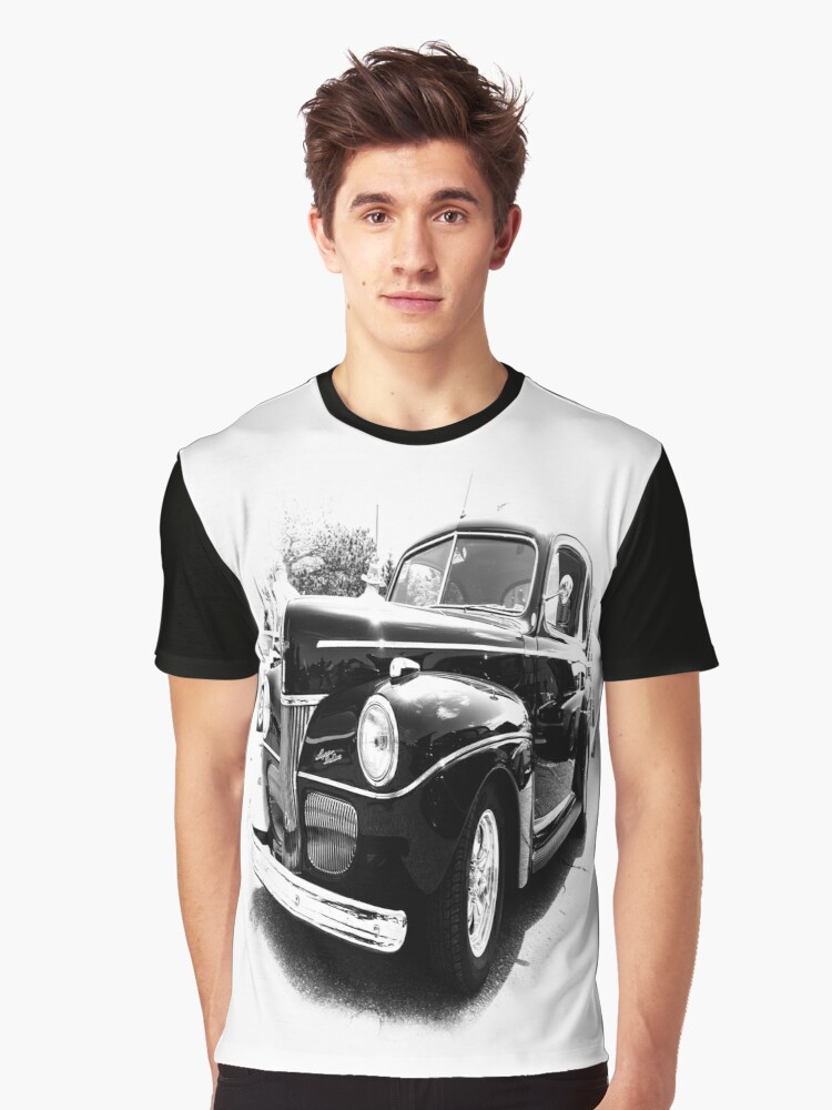 Black Beauty Graphic T-Shirt Front