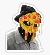 MF DOOM Pizza Mask Sticker