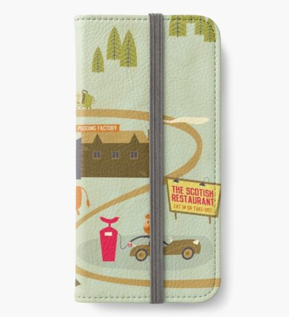 Black Pudding iPhone Wallet