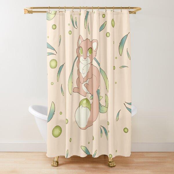 Cute Baby Ferret (Spring) Shower Curtain