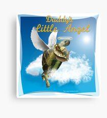 Tortoise - Daddy's Littel Angel Metal Print