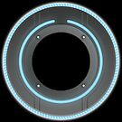 TRON Identity Discs by Mike Rieger