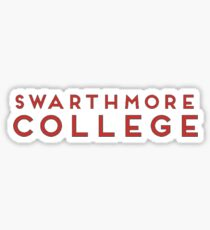 Swarthmore College Sticker