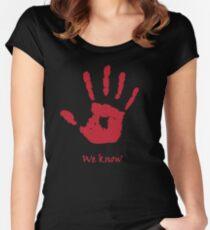 The Dark Brotherhood Women's Fitted Scoop T-Shirt