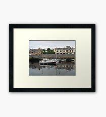 Dusk Reflections - Stornoway Framed Print