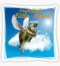 Tortoise - Grandpa's Little Angel Sticker