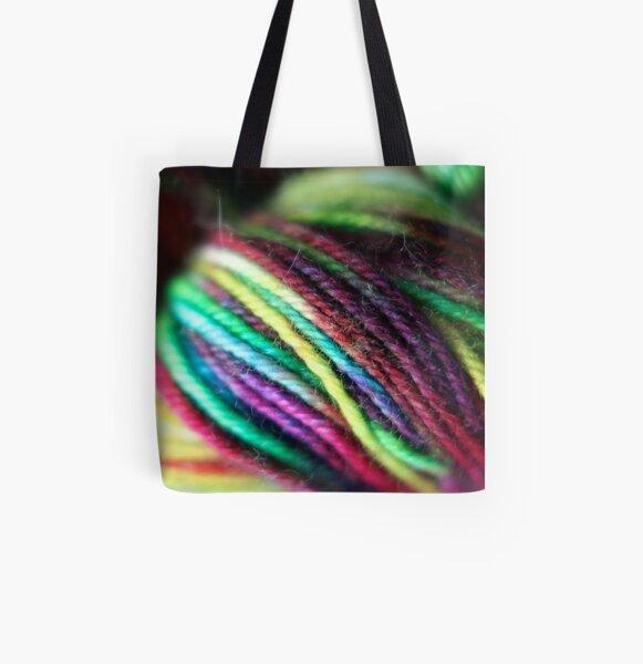 Yarn Skein 1 All Over Print Tote Bag