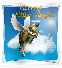 Tortoise - Mommy's Little Angel Poster