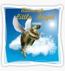 Tortoise - Mommy's Little Angel Sticker