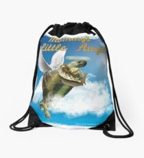 Tortoise - Mommy's Little Angel Drawstring Bag