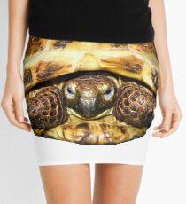 Tortoise Mini Skirt