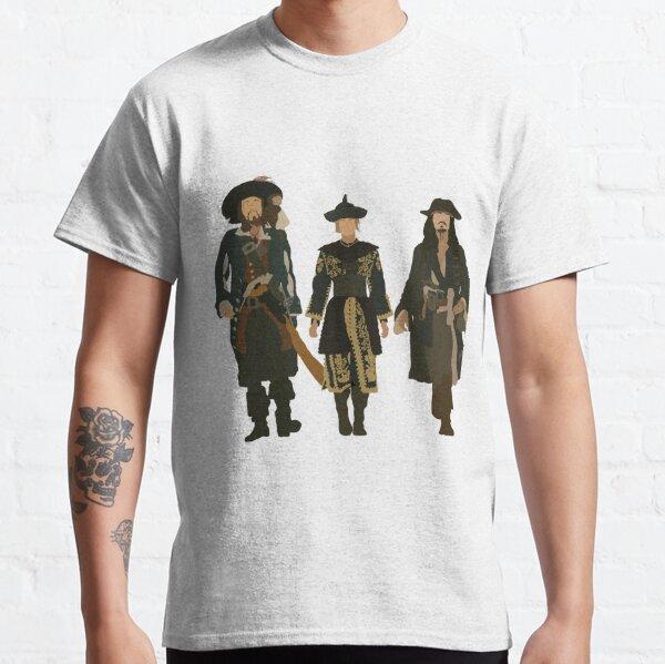 Hector Barbossa, Elizabeth Swann, Jack Sparrow Classic T-Shirt