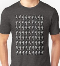 Bryan Ferry Gentlemanly Grin Tiny Repeat design T-Shirt