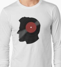 Vinyl Records Lover - The DJ - Vinylized Man Long Sleeve T-Shirt
