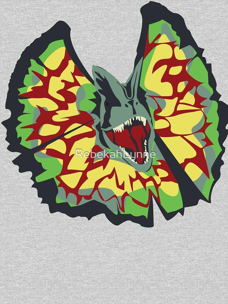 dilophosaurus by RebekahLynne