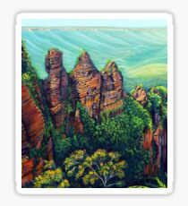 Three Sisters, Blue Mountains Sticker