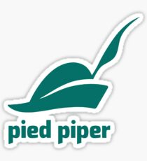 Pied Piper 3.0 Logo - Silicon Valley - New Logo - Season 3 Sticker