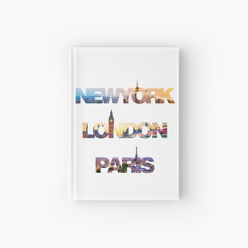 skylines Hardcover Journal