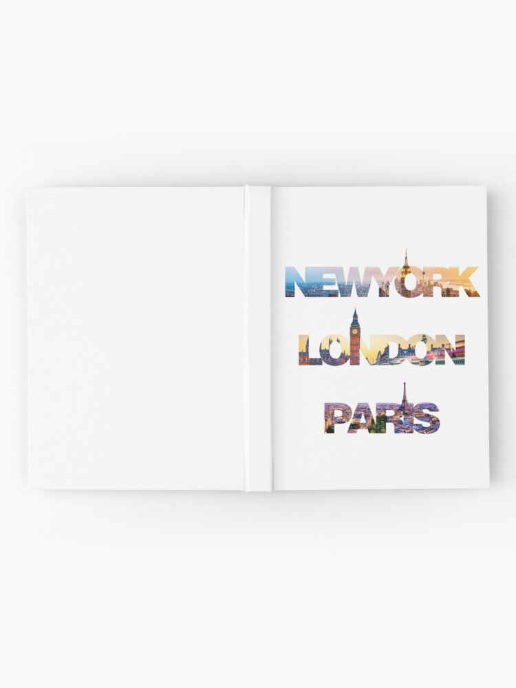 Alternate view of skylines Hardcover Journal