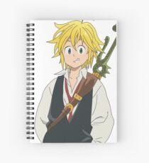 Cuaderno de espiral Meliodas (Anime: Siete pecados capitales)