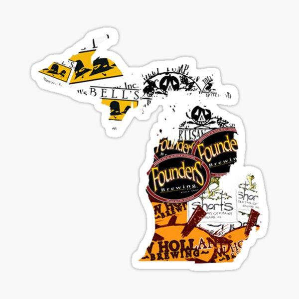 Michigan Cherry Vinyl Decal Made In Michigan Sticker Michigan Pride Car Decal Michigan Skateboard Sticker Traverse City Michigan Sticker