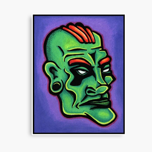 Dwayne Canvas Print
