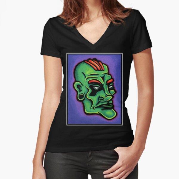Dwayne Fitted V-Neck T-Shirt