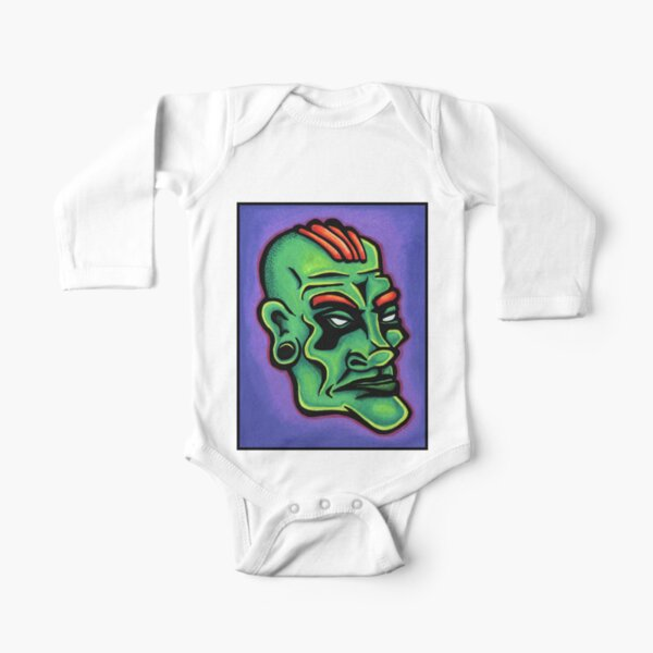 Dwayne Long Sleeve Baby One-Piece