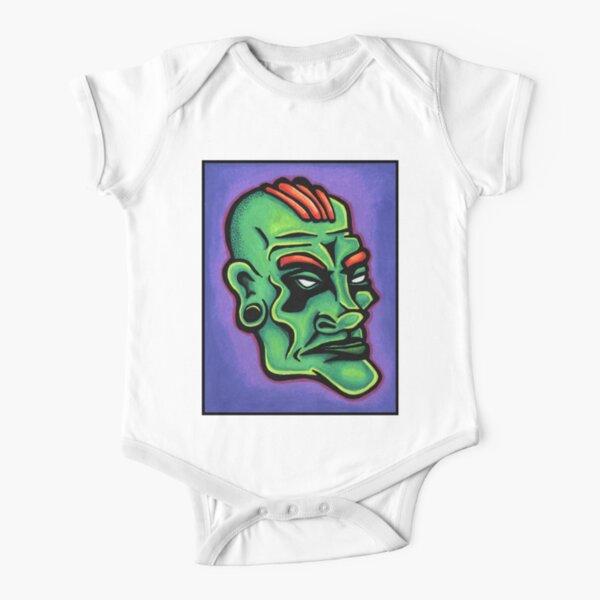 Dwayne Short Sleeve Baby One-Piece
