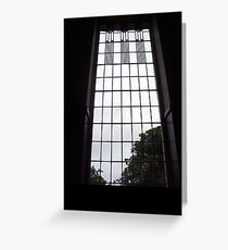 A Window in the House For An Art Lover  Greeting Card