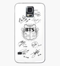 BTS Army + Signatures White v2 Case/Skin for Samsung Galaxy