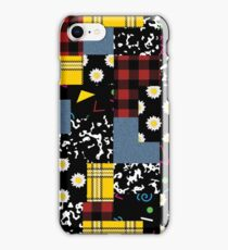 90's Patchwork iPhone Case/Skin