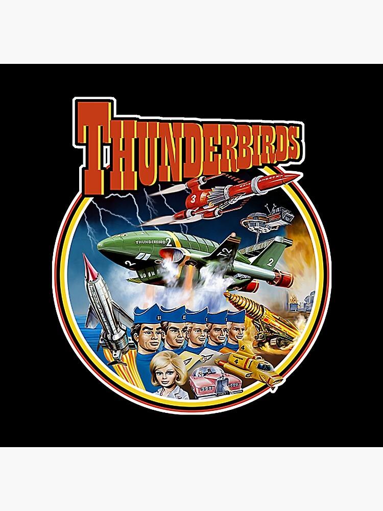 Retro Vintage Thunderbirds T-Shirt by RomaF6x