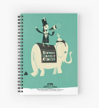 The Sandini Family Circus Spiral Notebook