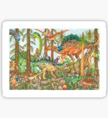 Prehistoric Playground Sticker