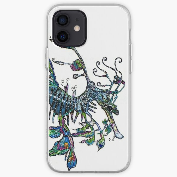 Leafy Seadragon by Sheridon Rayment iPhone Soft Case