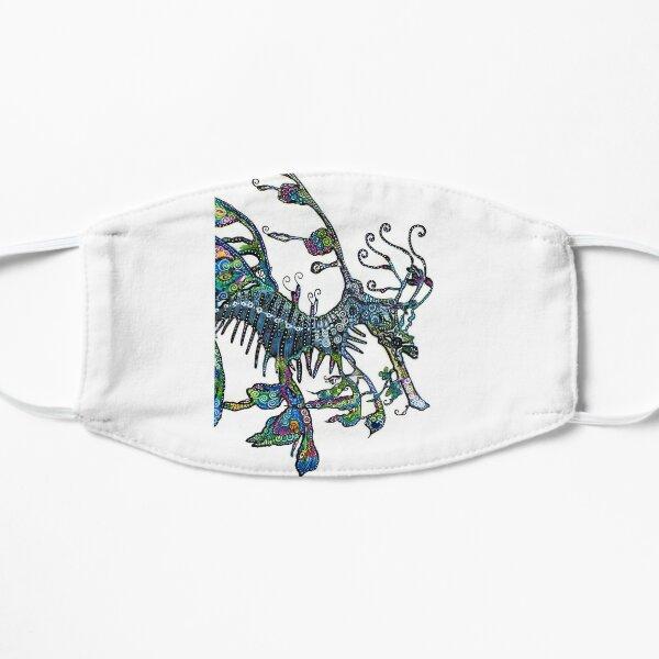 Leafy Seadragon by Sheridon Rayment Flat Mask