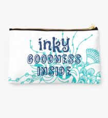 Inky Goodness Inside Studio Pouch