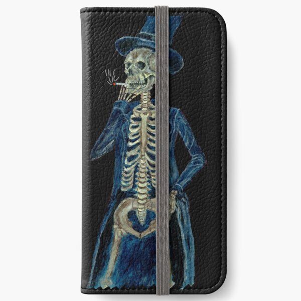 Smoking Death iPhone Wallet