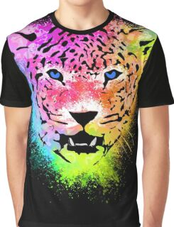 Tiger - Colorful Paint Splatters Dubs Graphic T-Shirt