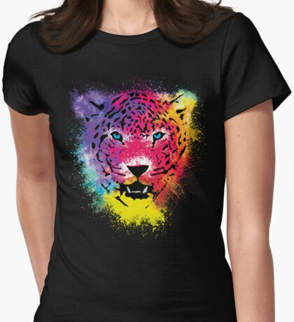 Tiger - Colorful Paint Splatters Dubs T-Shirt
