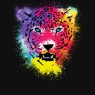 Tiger - Colorful Paint Splatters Dubs by Denis Marsili