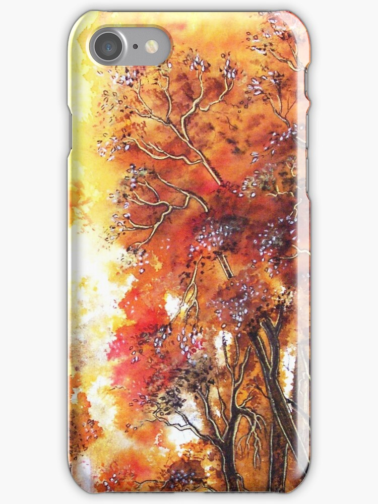 Timeless Trees iPhone Case by Linda Callaghan