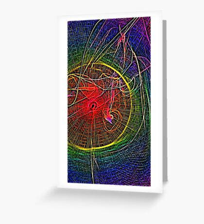 The Way Light Bends Greeting Card