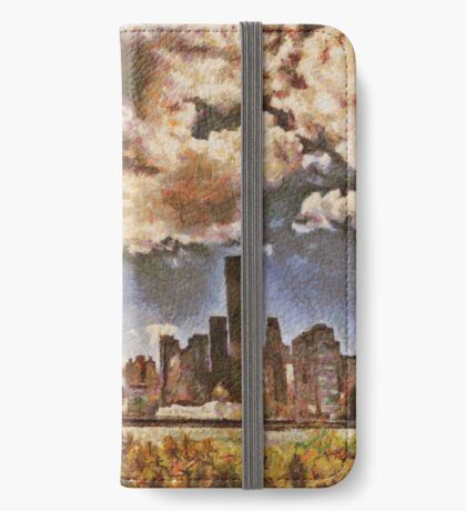 Fall in NYC iPhone Wallet