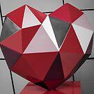 Red Diamond Heart by Robert McMahan